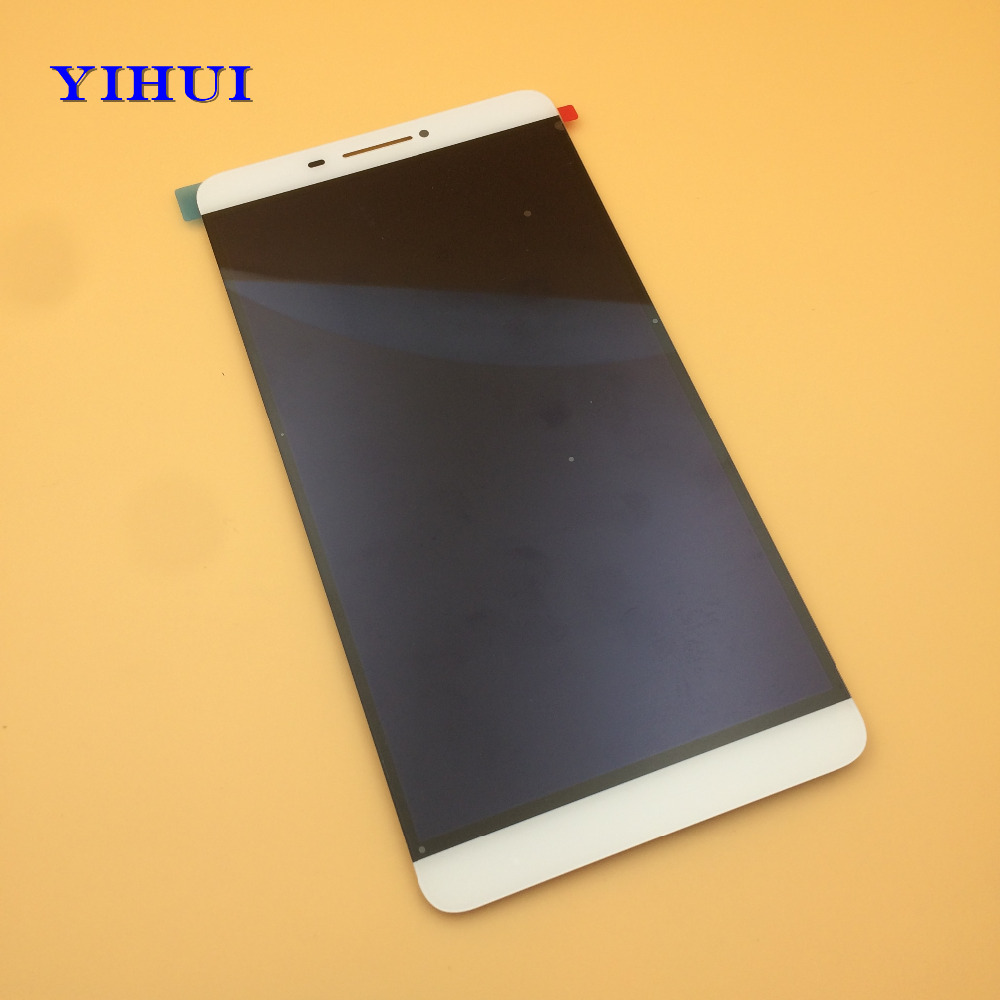 YIHUI LCD DIsplay+Touch Screen Digitizer Assembly For Lenovo PHAB 6.98 PB1-750N PB1-750M PB1-750 Free Shipping pb1 770n cover soft tpu rubber back case for lenovo phab plus pb1 770n case pb1 770m back case 6 8 inch screen tablet