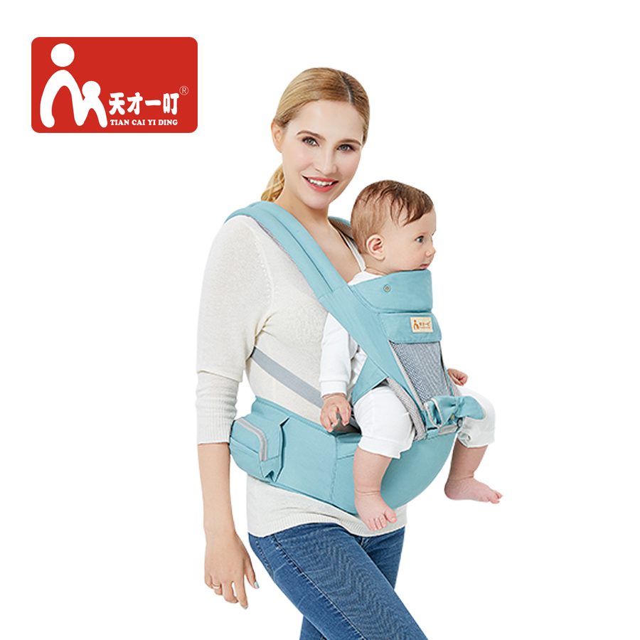 Multifunction Outdoor Kangaroo Baby Carrier With Hood Sling Backpack Infant Hipseat Adjustable Wrap For Carrying Children Mother & Kids