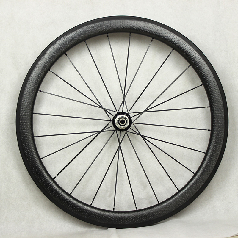 hot sale 700c dimple surface carbon wheelset light weight dimple - Cycling - Photo 3