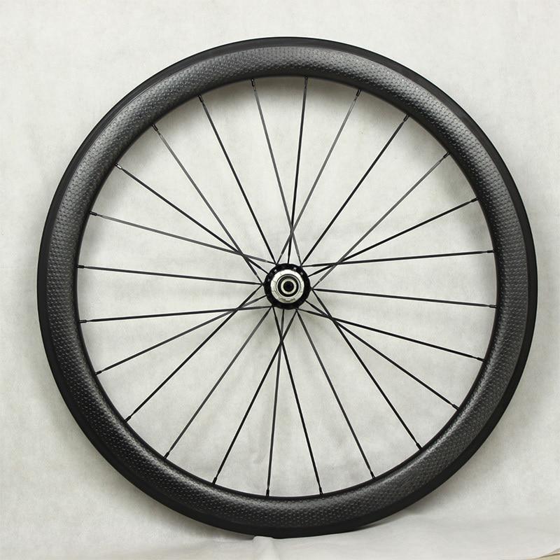 Vente chaude 700c dimple surface de roues en carbone léger poids - Cyclisme - Photo 3