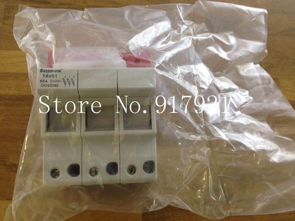 все цены на  [ZOB] The United States Bussmann CH143DMS 50A 690V 14X51 fuse holder fuse original  --2pcs/lot  онлайн