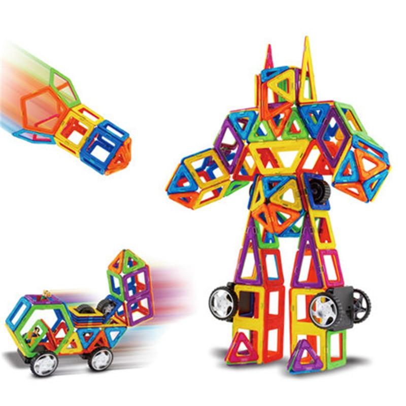 Hot sale&108pcs Magnetic Designer Construction Set Model&Magnetic Designer Learning Educational Brick Kids Toy 209pcs magnetic designer construction set model preschool skills