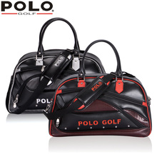 POLO Genuine New Golf Double Clothing Bag High Quality Men Duffel Bag Import PU Large Capacity Andbag Messenger Clothes Shoe Bag(China)