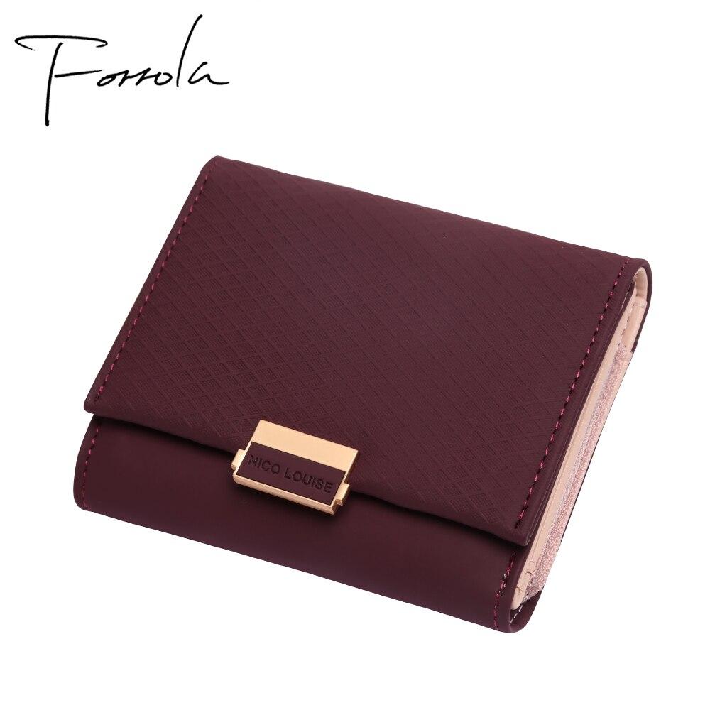 NICO LOUISE Naiste rahakott, 6 värvivalikut