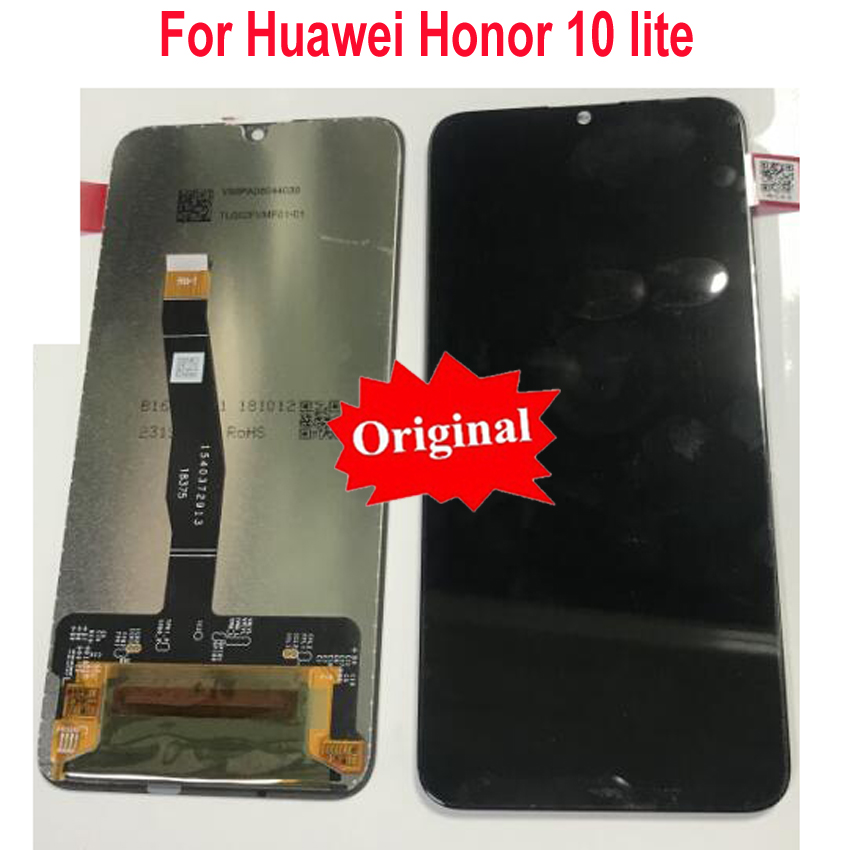 100% Original Tested Best Working For Huawei Honor 10 Lite 10lite LCD Display Touch Screen Digitizer Assembly Sensor Phone Parts
