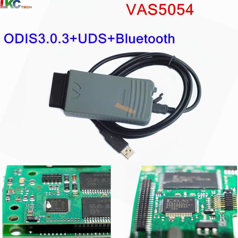2018 High Quality VAS 5054A ODIS V3.0.3/V4.0.0 Bluetooth Support UDS Protocol Without OKI VAS5054A VAS5054 Diagnostic tool 5pcs lot vas 5054 bluetooth odis3 0 3 version support uds protocol vas5054 oki chip diagnostic tool vas5054a vas 5054a