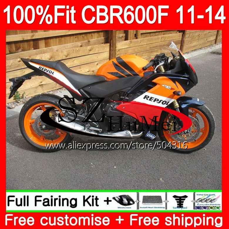 Injection For Honda Cbr600f4i Cbr600f 11 12 13 14 116sh6