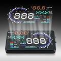 5.5 ''Tela Colorida Car HUD Head Up Display OBD II Sistema De Alerta De Velocidade KMh MPH RPM Consumo de Combustível Pára projetor