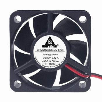 1pcs/lot Gdstime 12V 2Pin 5020 5CM 50x50x20mm 50mm DC Cooler Cooling Fan dd260n16k 260n16k 1pcs lot