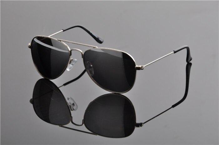 Детская UV400 поляризованные со специальным покрытием для гонок солнечные Горячие модная детская одежда пилота зеркала солнцезащитные очки с Чехол Ткань EV0831