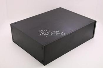 CELLO BlackFull Aluminum Amplifier Case Enclosure Chassis/AMP box 230*90*308mm