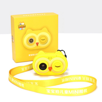 Smart Kids Camera Mobile Phone Sync WiFi Kids Camera Toys Mini HD Cartoon Cameras 1200W Pixel Digital Video Camera Kids Gifts