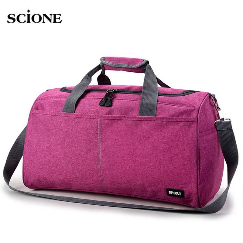 Hot Sport Bag Training Gym Bags Men Woman Fitness Durable Multifunction Handbags Outdoor Sporting Shoulder Tote For Male XA398WA