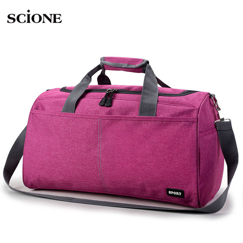 Hot Sport Bag Training Gym Bags Men Woman Fitness Durable Multifunction Handbags Outdoor Sporting Shoulder Tote For Male XA398WA
