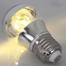 Modern Chrome Lamp bubble 3 w / 5 7 E27 E14 Shadowless Medical Semi-plated Mercury Light Half Plating Source