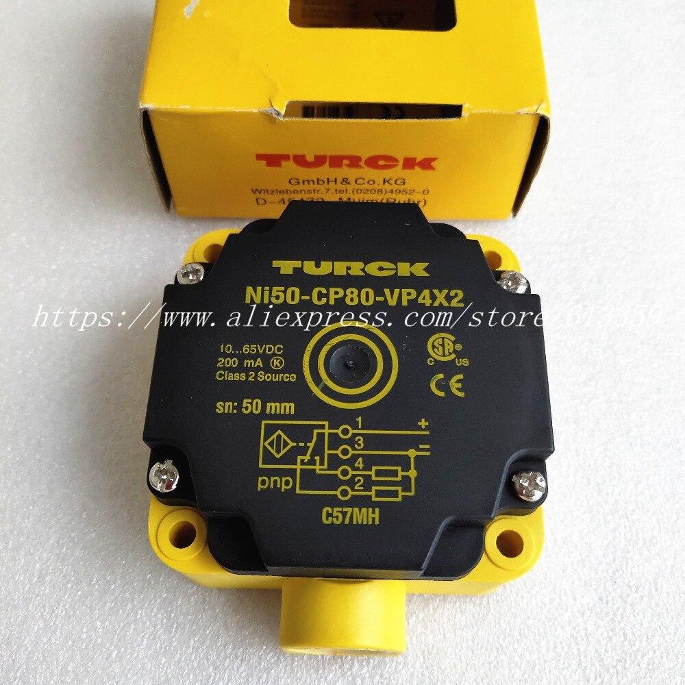 NI50 CP80 VP4X2 NI50 CP80 VN4X2 Turck Proximity Switch Sensor New High Quality