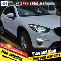 Car Style LED Headlights For Mazda CX 5 2013 2015 For CX 5 Head Lamp LED