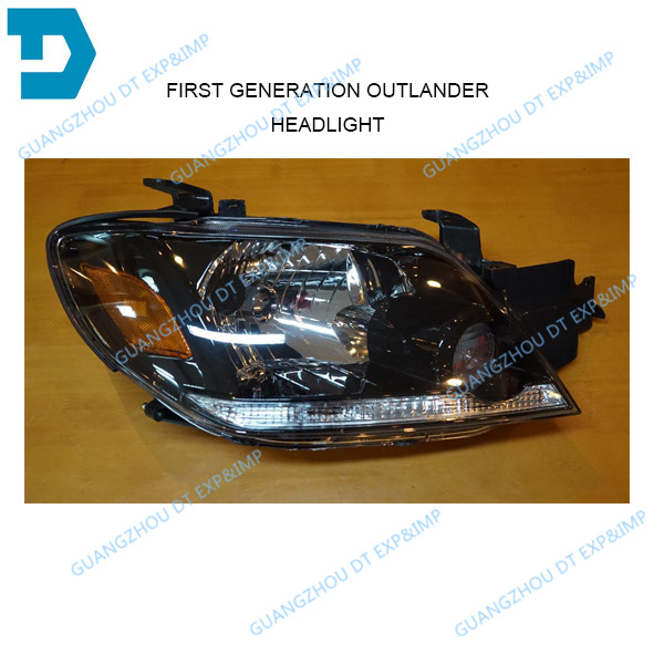 2003-2007 outlander headlight airtrek front lamp buy 2 piece if you need 1 pair without bulb all other parts available