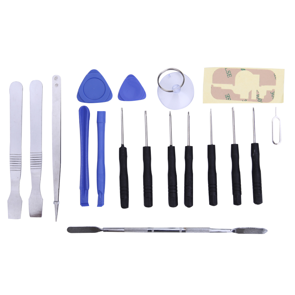Universal 18 in1 Smart Cell Mobile Phone Repair Tool Kit Opening Pry Screwdrivers Set for Iphone ipad Table PC New Hand Tools