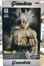 WSTXBD BANPRESTO Original Dragon Ball Z DBZ Grandista GROS Ros Goku UI Ultra instinto PVC figura juguetes Figurals muñecas Brinquedos