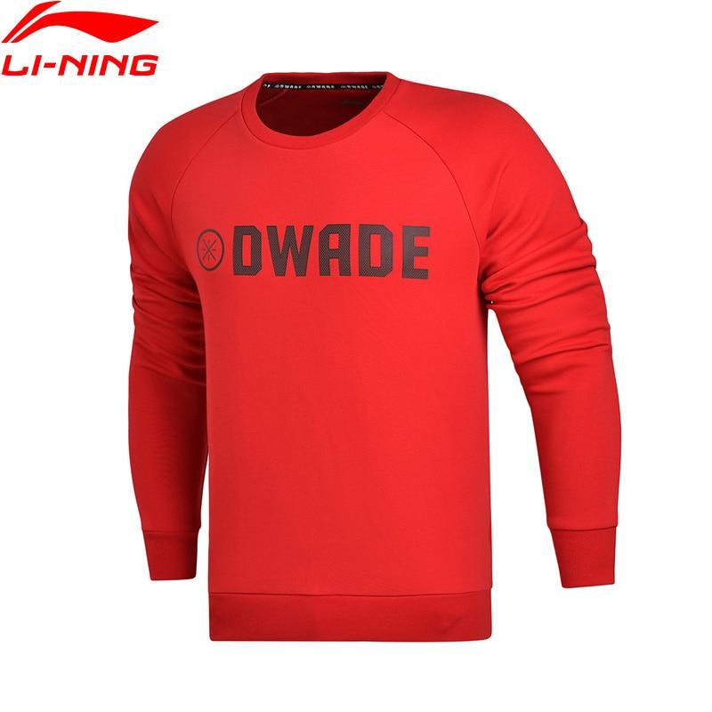 Li-Ning Men Wade Series Sweater Regular Fit 66% Cotton 34% Polyester LiNing Sportswear Long Sleeve Tops AWDM633 MWW1329 цена 2017