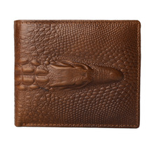 Gubintu Wallet Crazy Horse Cowhide Leather Men Short Coin Purse Vintage Brand High Quality Designer Holder