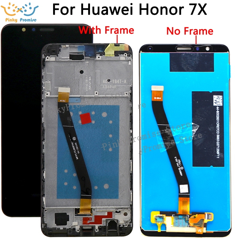 US $16 74 5% OFF Huawei Honor 7X LCD Display Touch Screen Digitizer For  Huawei Honor 7X LCD With Frame BND L21 BND L22 BND L24 LCD Replacement-in