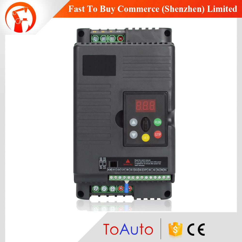 цены Universal Lathe Motor Drive VFD 1.5KW Inverter 2HP 3Ph Output 380V Variable-frequency Drive for 3 Phase Asynchronous Motor