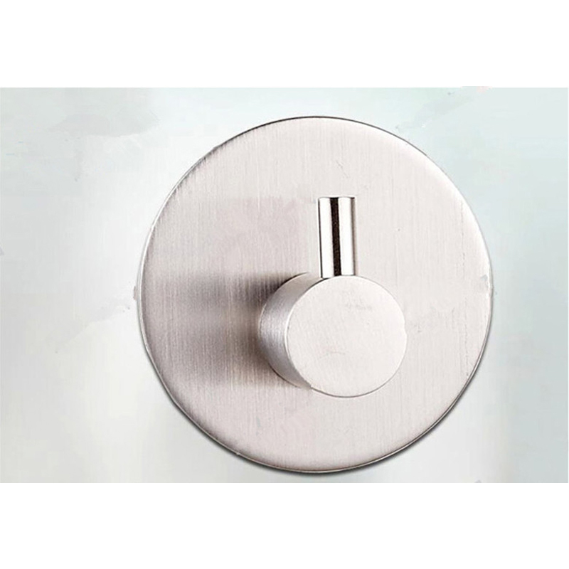 ganci appendiabiti stile moderno da parete in acciaio inox traceless nastro adesivo robe ganci appendiabiti hanger