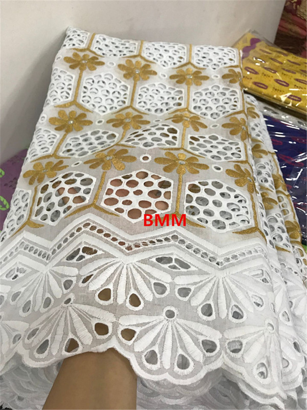 Swiss Voile Lace In Switzerland Tissu Dentelle White Nigerian Lace Fabrics African Dresses For Women Swiss Lace Fabric 7yard/lot