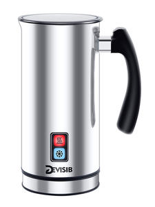 DEVISIB Milk-Steamer Electric-Cappuccino Automatic Hot/cold-Coffee CE 1-Year-Warranty