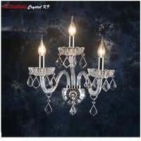 Luxury Wall Sconce Lighting European style wall lights lamp bedside lamp crystal lamp Wall sconce bedroom stairs living room