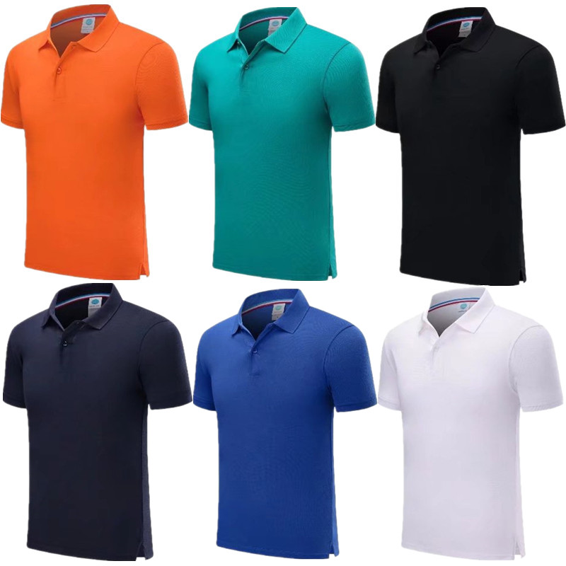Trainning Exercise Golf Short Sleeve Sports Polo Shirts Quick Dry Slim Outdoor Training Tennis Badminton Sportswear 7901
