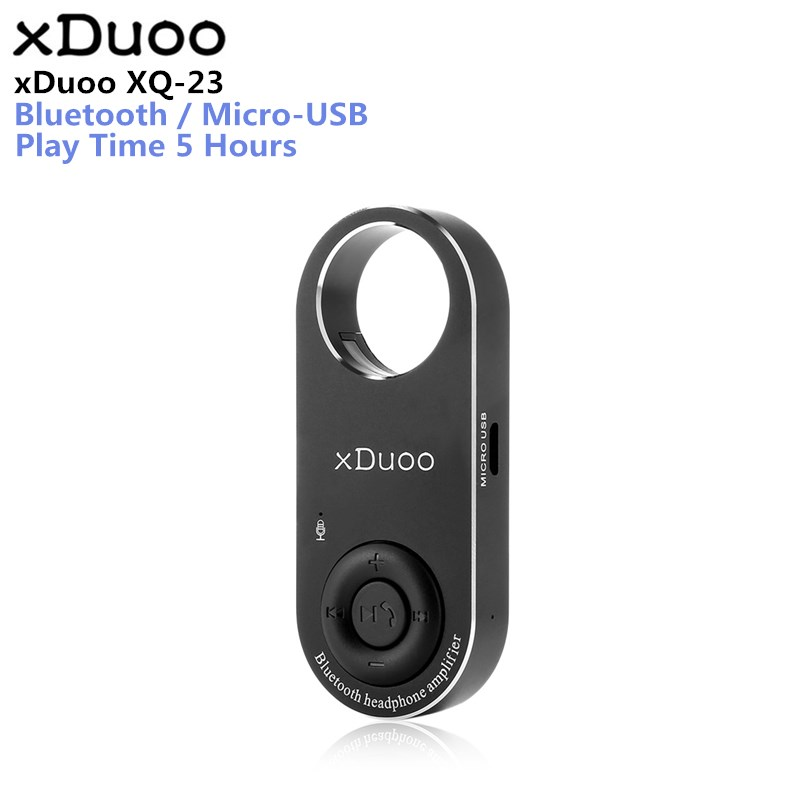 XDUOO XQ-23 High Performance Bluetooth CSR8670 APTX WM8955 DAC Power Amplifier HiFi Audiophile Portable Headphone Amplifier ...
