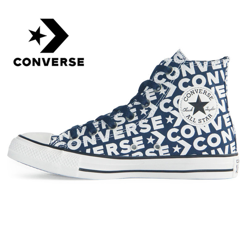 Original authentic CONVERSE 2019 new Chuck Taylor all-star unisex sneakers classic letters high-top skateboard shoes 163952COriginal authentic CONVERSE 2019 new Chuck Taylor all-star unisex sneakers classic letters high-top skateboard shoes 163952C