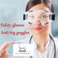 Óculos de segurança óculos Anti-nevoeiro óculos de ciclismo Anti-vento de areia poeira trabalhistas fornecimentos experimento frete grátis