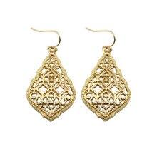 ZWPON богемные золотые филигранные полые серьги-капли,, известный бренд, ювелирное изделие, бохо, модные женские серьги в стиле Марокко