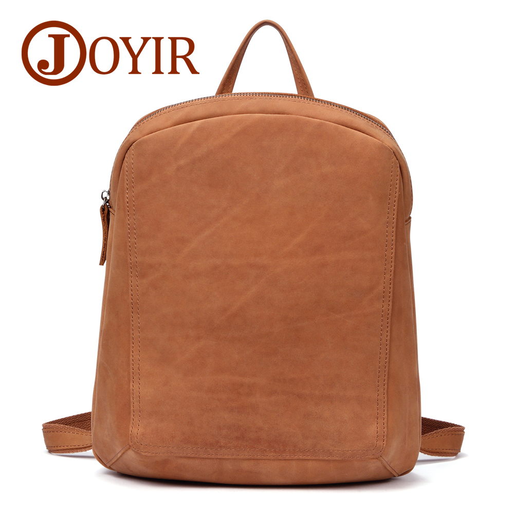JOYIR Women s Backpack SchoolBags For Girls Genuine Leather Bag Female Back Pack For School Fashion
