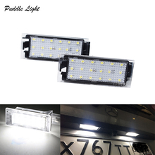 2PCS 6000k License Plate Lights For MERCEDES-Benz Citan  Smart 453 415 Light Lamp