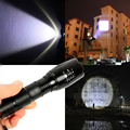 CREE XM-L T6 3800 Lumens cree led Torch Zoomable cree LED Flashlight Torch light