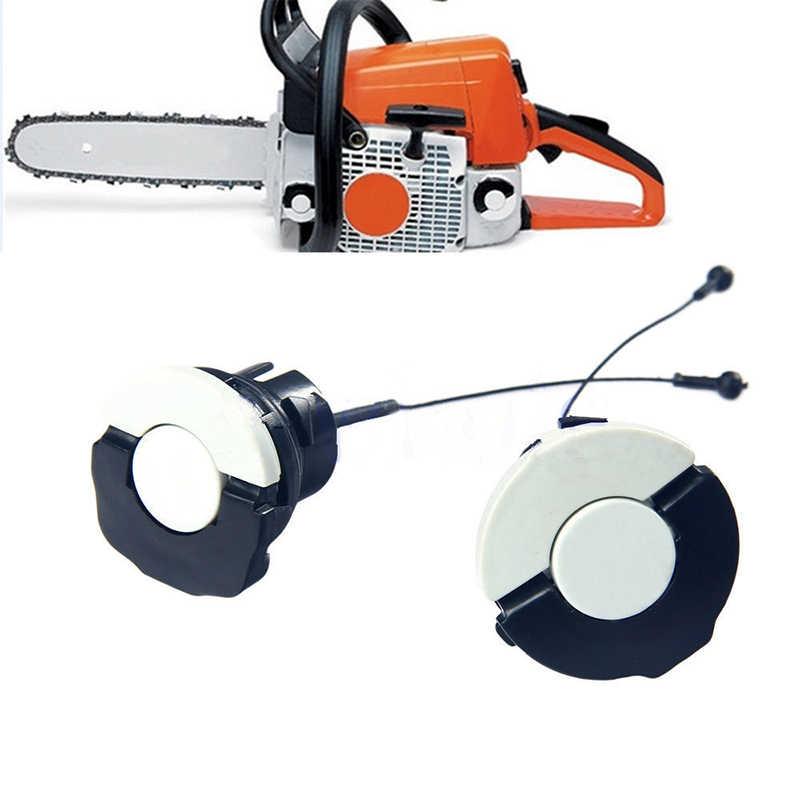2pcs Brandstof Olievuldop Fit voor STIHL Kettingzaag MS200 MS230 MS250 MS260 TB Thuis Power Tool Kettingzaag werken Accessoires