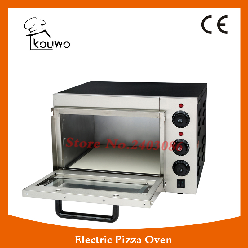 KW-1AT commercial electric baking pizza oven machine with Single deck  for restautant three groups of kebab ovens commercial electric oven machine