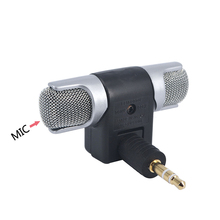 Kebidu 2017 caliente Electret condensador estéreo claro voz mini micrófono para PC para la computadora Universal Laptop teléfono