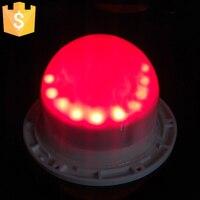 120 미리메터 24 LED 직접 충전 램프 자료 조명 광원 RGB 16 색상