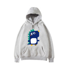 2018 new hot sale Cotton Warm Hoodies Sweatshirts Little dinosaur Cute Couples dress men women Hoodies Sweatshirts autumn winter(China)