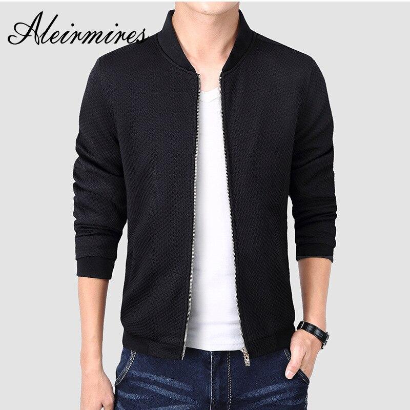 Aleirmires otoño primavera Ma1 Polit Bomber para hombre chaquetas de vuelo de los hombres de moda Casual abrigos ropa Jaqueta Masculina de calidad superior