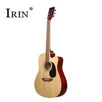 41Inch Acoustic Guitars 6 String Folk Handmade Guitar Hollow Fingerboard Rosewood Music Instruments Cutaway Violao Free Shipping