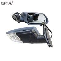 Зеркало автомобиля для Skoda Octavia MK2 A5 2004 2005 2006 2007 2008 автомобиль-Стайлинг с подогревом Электрический Крыло зеркала