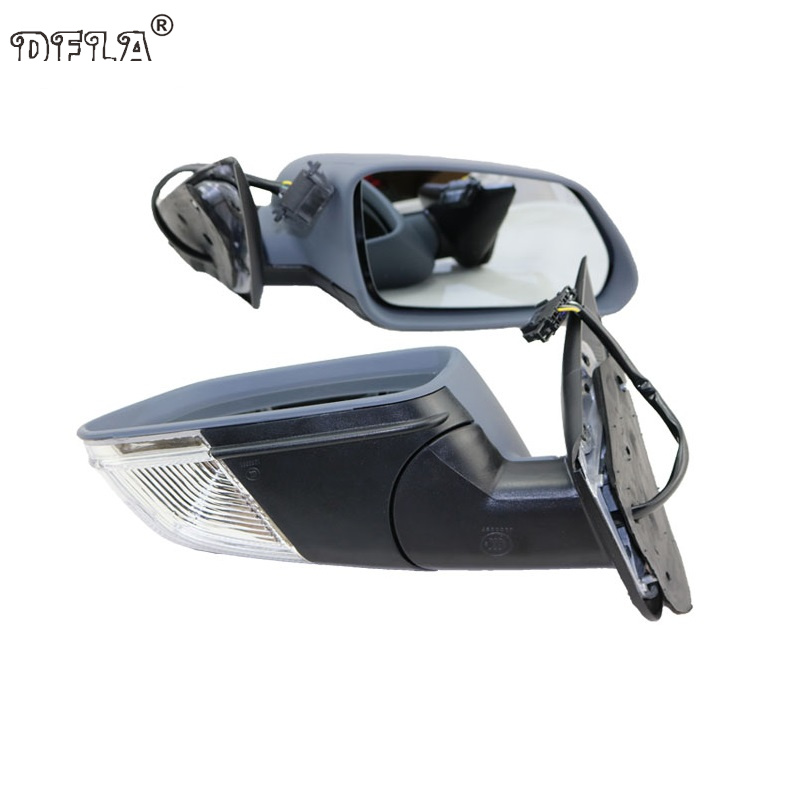 Car Mirror For Skoda Octavia MK2 A5 2004 2005 2006 2007 2008 Car Styling Heated Electric Wing Side Mirror