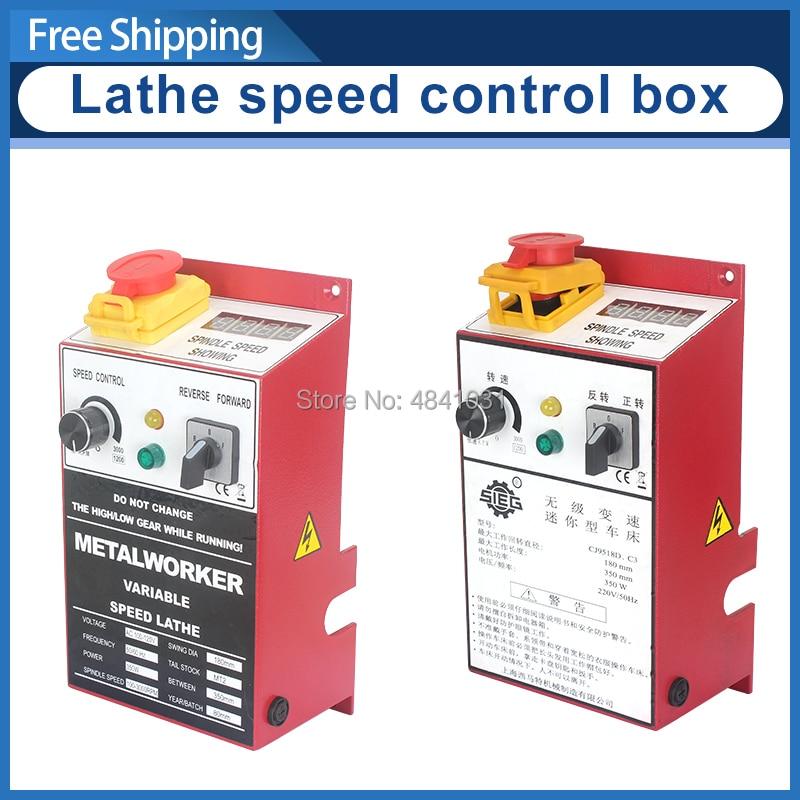 Control Box Assembly 7x14 Mini Lathe Speed Control Box SIEG C3 110V&220V Electrical Control Box Circuit Board Mounting Box